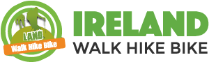 logo for Ireland Walk Hike Bike